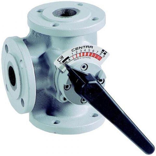 Клапан 3-х ходовой поворотный ДУ100 Honeywell DR100GFLA