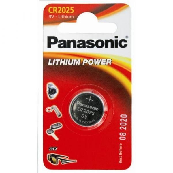Элемент питания Panasonic CR2025 LITHIUM