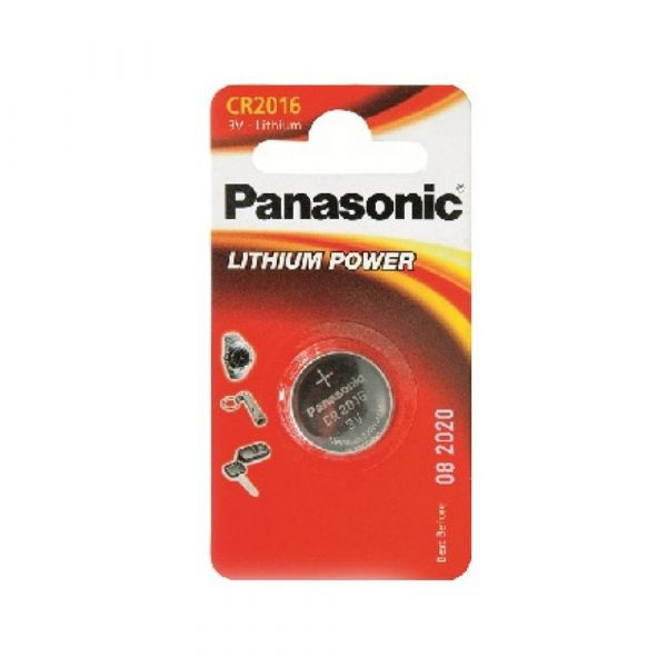 Элемент питания Panasonic CR2016 LITHIUM