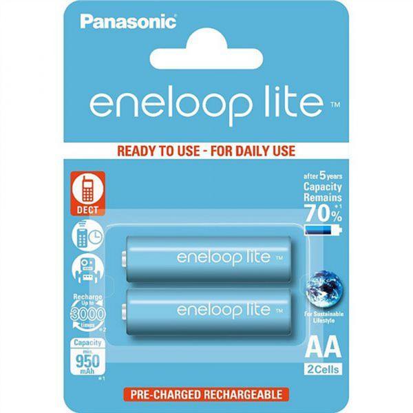 Panasonic Eneloop LITE R6 AA 950 mAh BULK