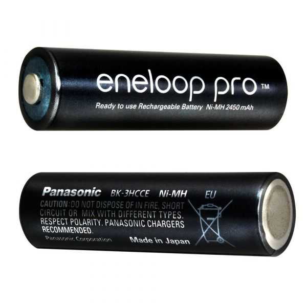 Panasonic Eneloop PRO R6 AA 2450 mAh BULK