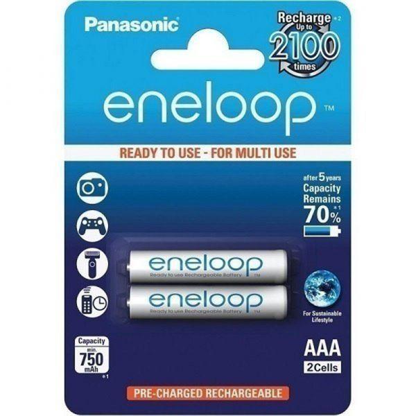 Panasonic Eneloop R3 AAA 750 mAh 2BP