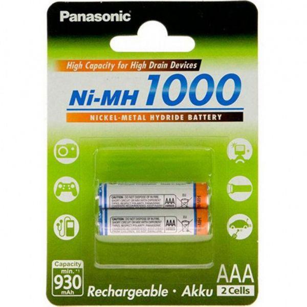 Panasonic HICH CAPACITY R3 AAA 1000 mAh 2BP