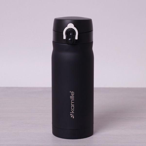Термос-бутылка KAMILLE 2005 из нержавеющей стали 380мл