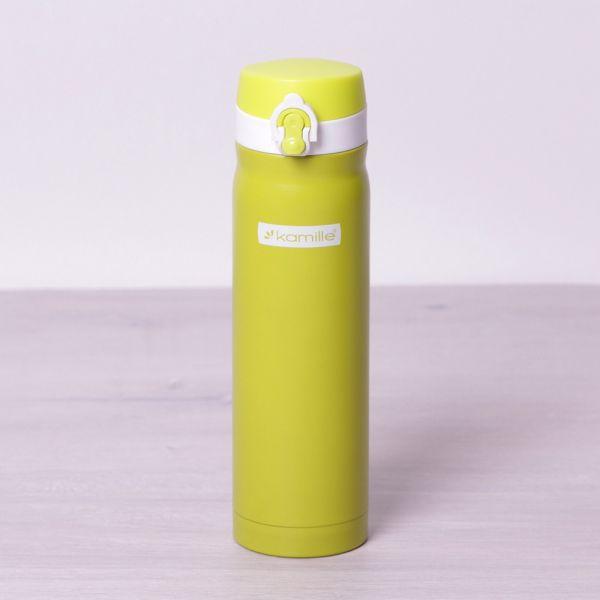 Термос-бутылка KAMILLE 2005B  из нержавеющей стали 500мл