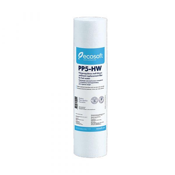 """Картридж полипропиленовый для горячей воды Ecosoft 2,5""""x10"""" 5 мкм"""