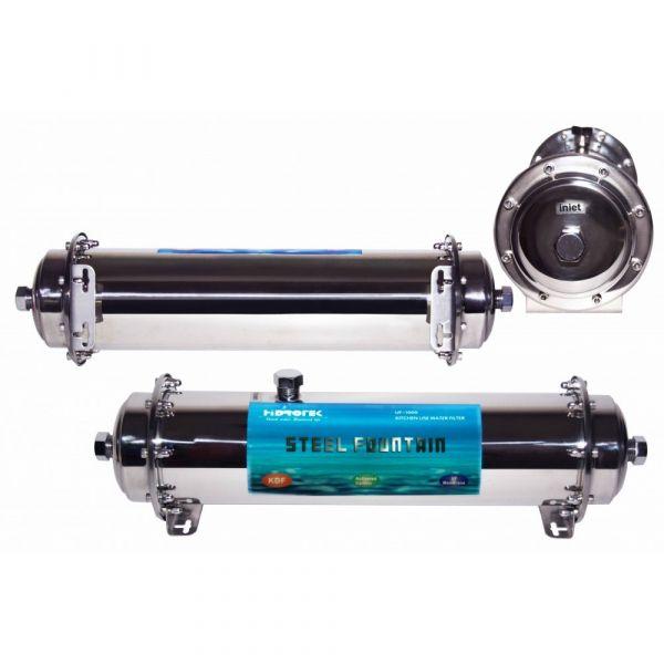 Фильтр высокой производительности AquaKut UF-1000 (КДФ, уголь, УФ мембраной)