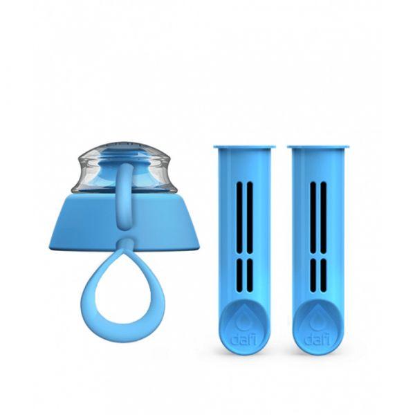 Фильтры для бутылок и крышка от бутылки Set of 2 Dafi небесная