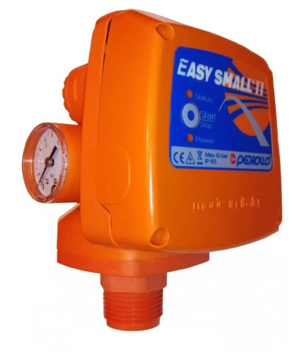 Электронный регулятор давления Pedrollo EASYSMALL-2M (с манометром, старт 2.2 бар)