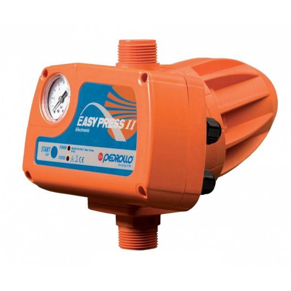 Электронный регулятор давления Pedrollo EASYPRESS-2M (с манометром, старт 1.5 бар)
