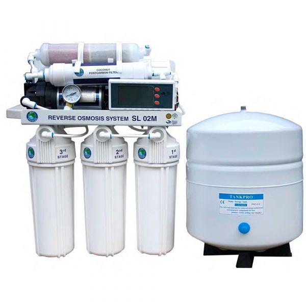 Фильтр обратного осмоса с минерализатором BIO+systems RO-50-SL02M-NEW