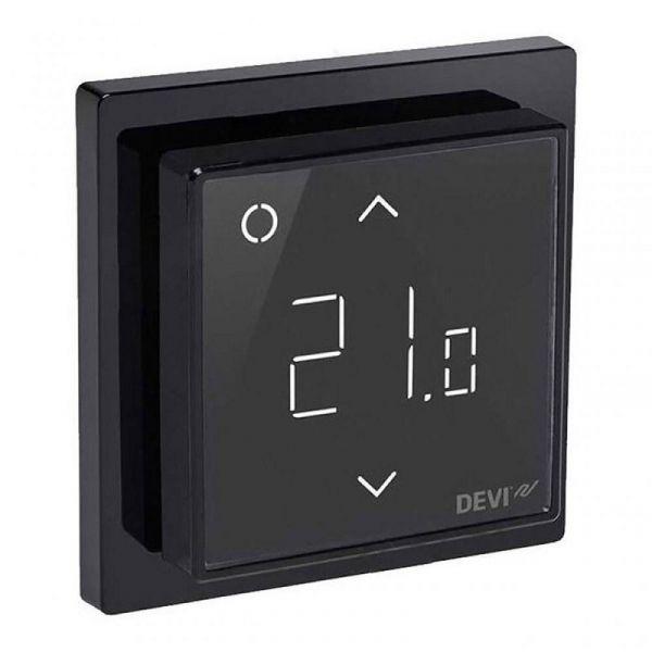 Терморегулятор DEVI Devireg Smart Black (Черный) 140F1143