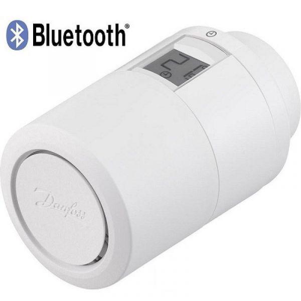 Термоголовка Danfoss Eco Bluetooth, 2 х 1,5 АА, белая