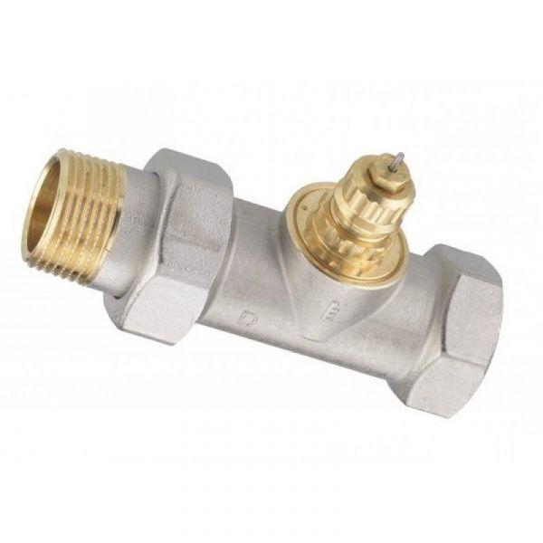 """Клапан Danfoss RA-G 15 термостатический, вх. 1/2"""" - вых. 1/2"""", прямой, никель"""
