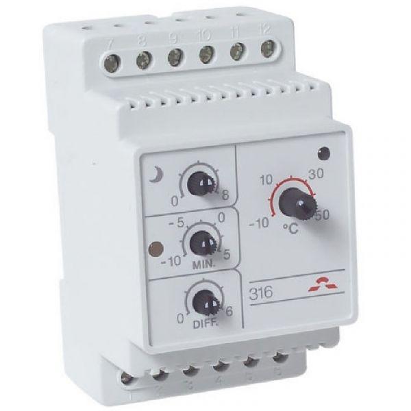 Терморегулятор DEVIreg 316, DIN 16A