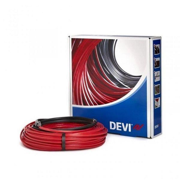 Кабель нагревательный DEVIFlex 10T, 2х жильный, 1.5 кв.м, 205W, 20м, 230V