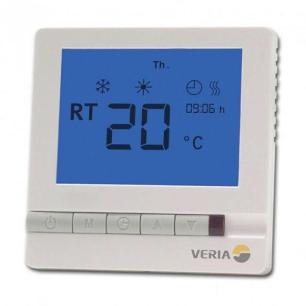 Терморегулятор Veria Control T45, цифровой, программируемый, макс 13А