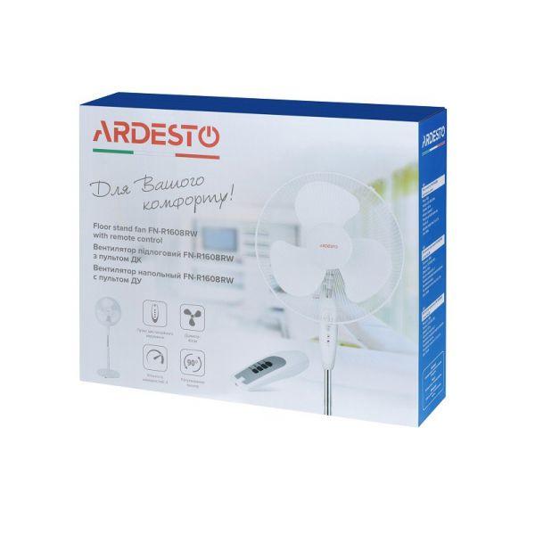 Вентилятор Ardesto FN-R1608RW белый с ПДУ