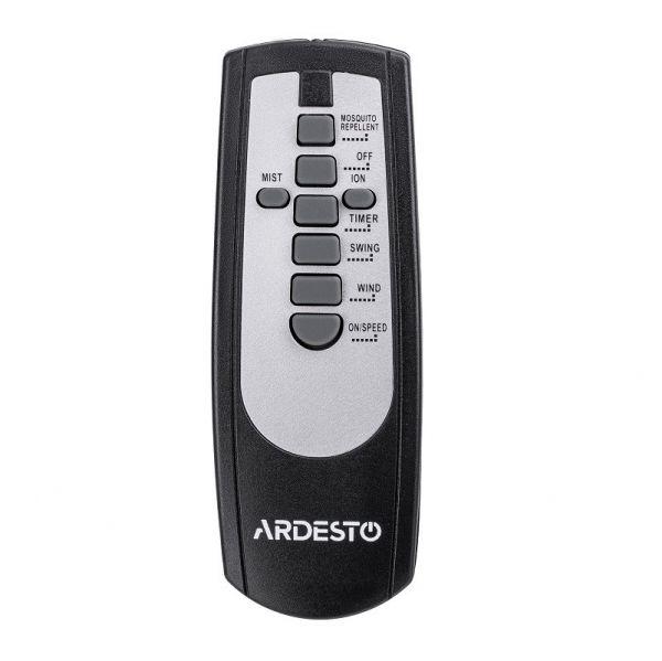 Вентилятор напольный Ardesto FNM-X2S с функцией холодного пара