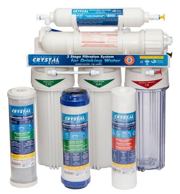 Фильтры обратного осмоса CRYSTAL CFRO-550