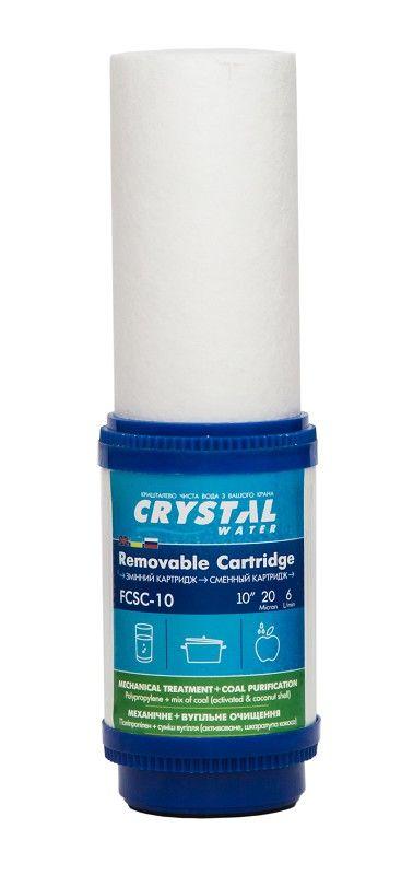Картридж механической и угольной очистки CRYSTAL FCSC-10