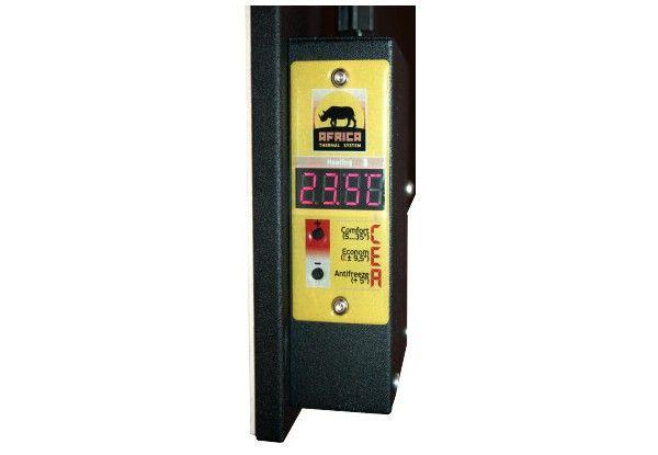 Керамический обогреватель AFRICA X-1200 beige (термостат+таймер)