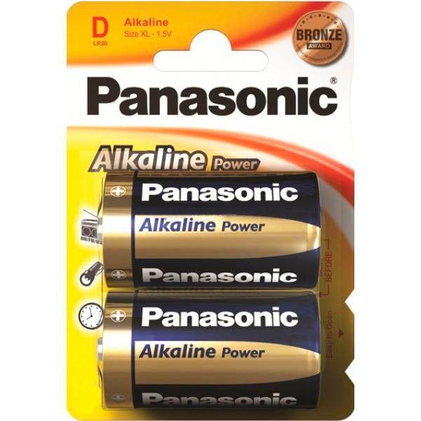 Элемент питания Panasonic Alkaline Power LR20