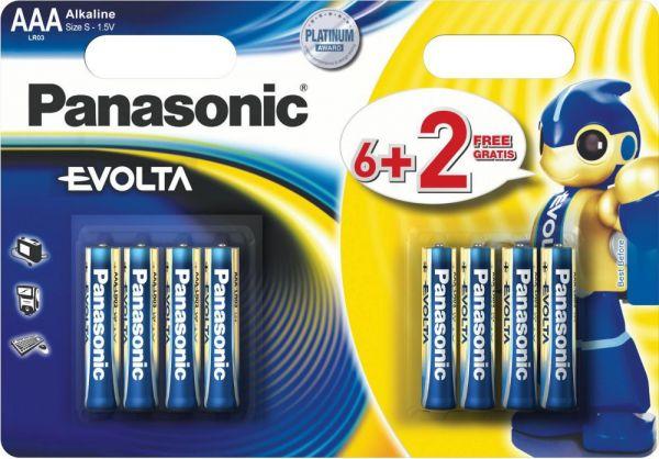 Элемент питания Panasonic Evolta Alkaline LR3 AAA