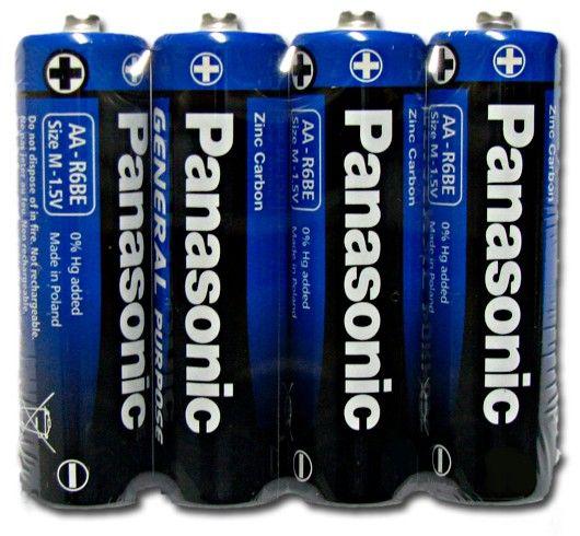 Элемент питания Panasonic General Purpose LR6 AA