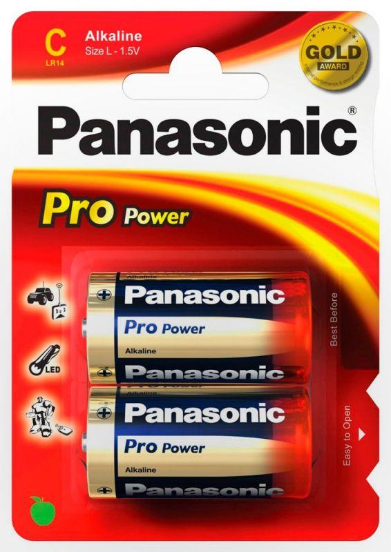 Элемент питания Panasonic Alkaline Power C LR 14