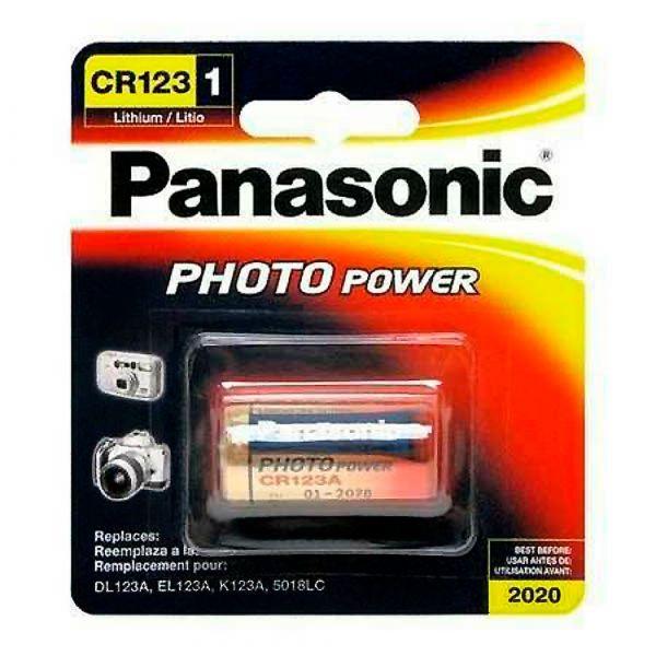 Элемент питания Panasonic CR 123 LITHIUM